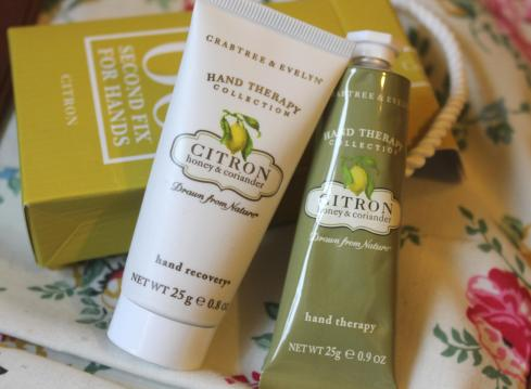 crabtree and evelyn 60 second hand fix citron review