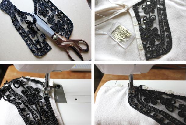oxfam fashion DIY tutorial collars - step by step jpg