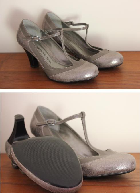 tuesday shoesday shoes from the car boot sale cassiefairys silver heels