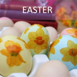 Spring projects & Easter bakes