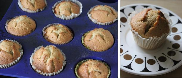 pieday friday baking cake recipe fruity banana muffins