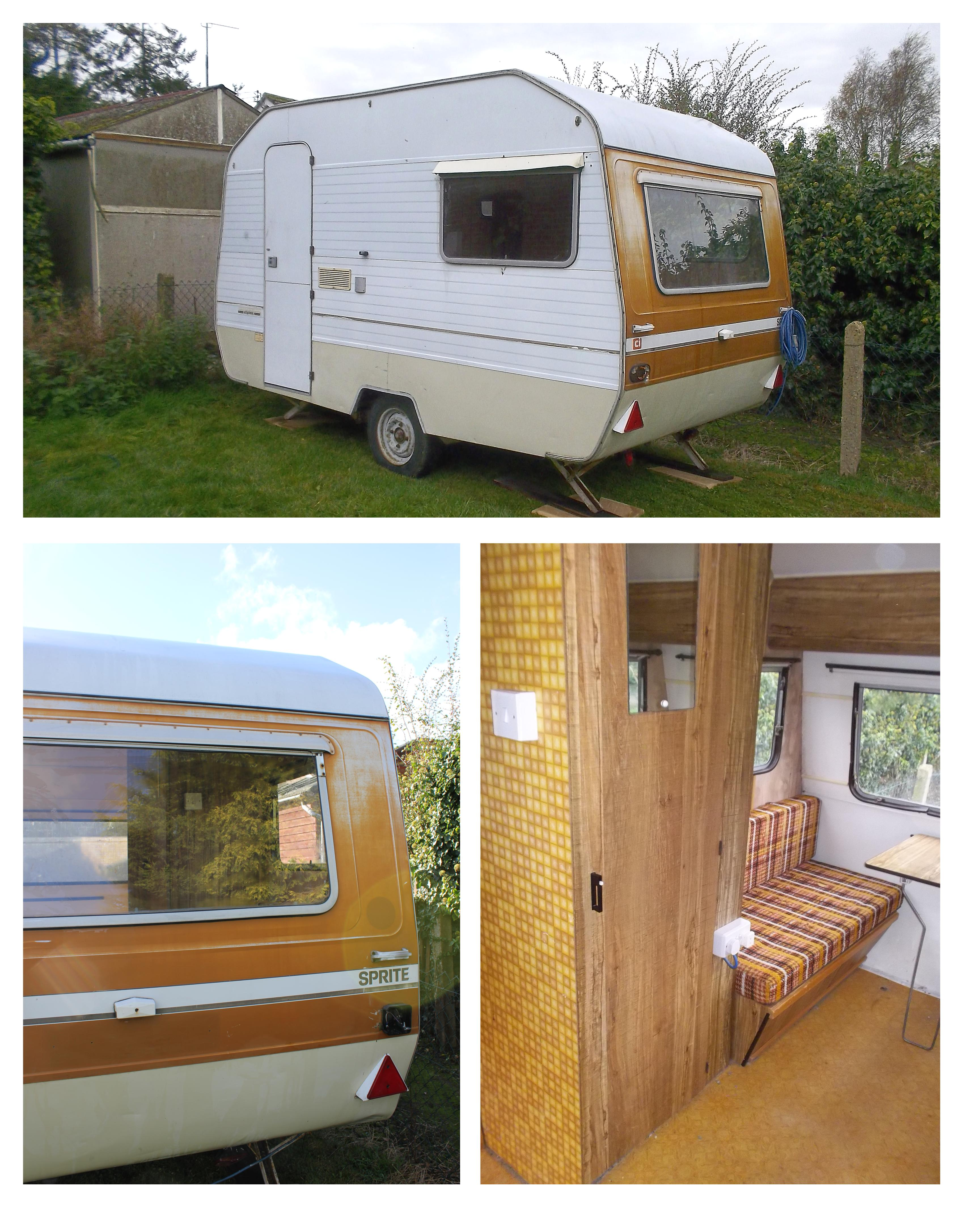 my little vintage caravan project a fresh start with a new look