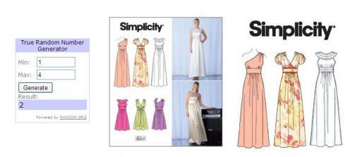 inspiration challenge for august 2013 vintage wedding dress winning simplicity sewing pattern prize winner