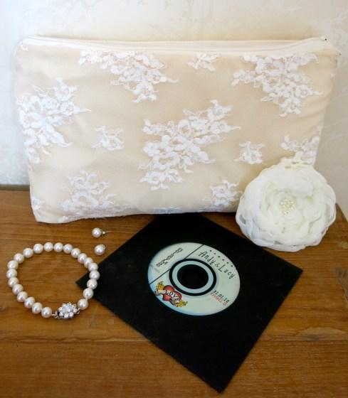Inspiration Challenge wedding dress theme handmade bag by LucyLovesya blog
