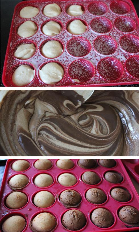 pieday friday making cake pops using baking tray from dunelm mill