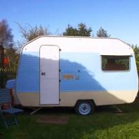Painting My Caravan