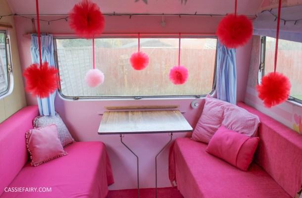 Cassie Fairy Caravan Alpine Sprite pom pom party decoratoins