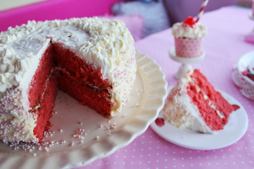 Red velvet birthday cake recipe