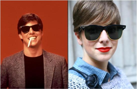 80s fashion inspired by tom cruise