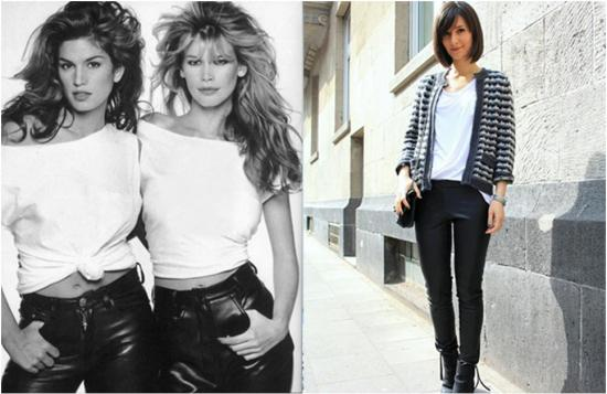 80s rock fashion looks cindy crawford