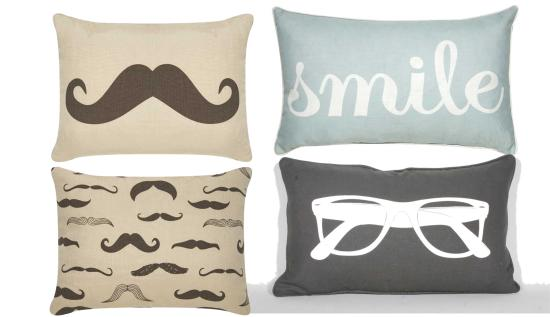 dream a little dream funny bedroom cushions  from ocm