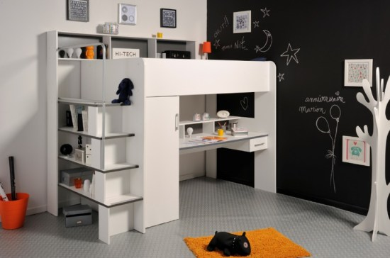 high sleeper bed with storage space