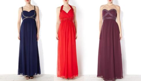 new look long maxi prom dresses for weddings