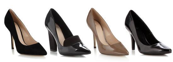 tuesday shoesday work heels court shoes from debenhams jasper conran and faith