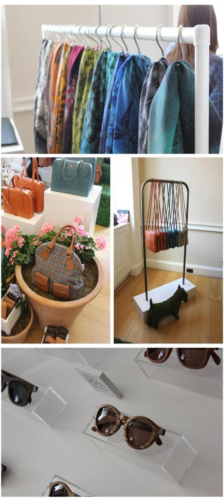shopping at london fashion weekend radley bags