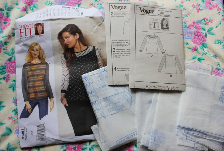my great british sewing bee inspired project using stretch fabrics
