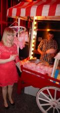 Candy floss & popcorn - yum!