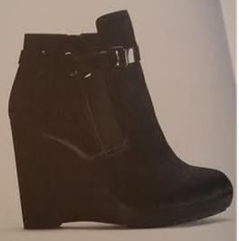 clarks aw 14 wedge shoe boots