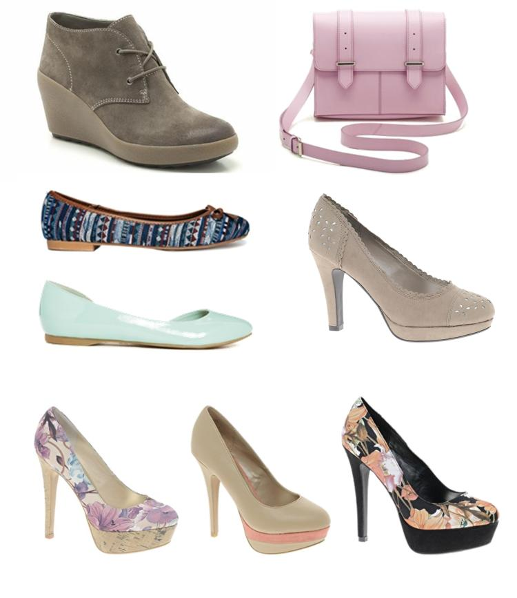 jpg spring summer sales shoes 2014 from new look asos and clarks