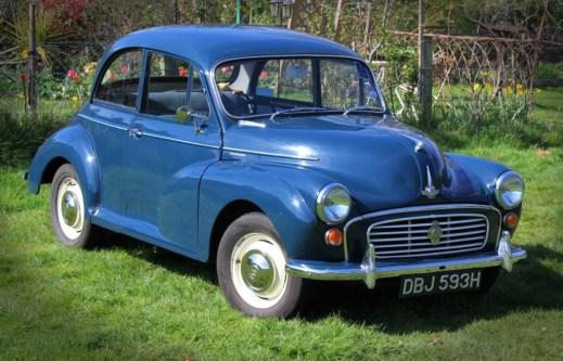 vintaage car rally photos Morris