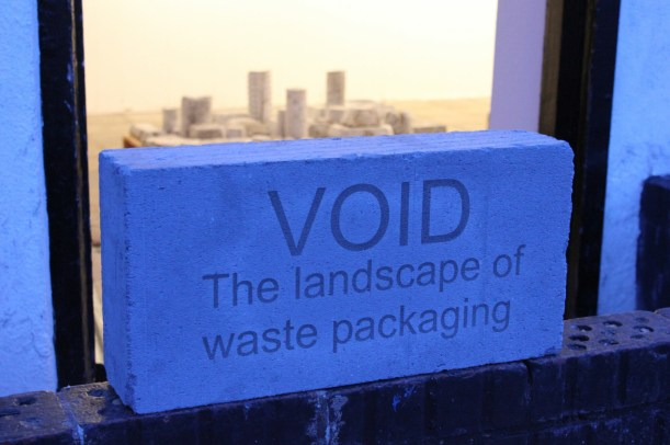 void landscape of waste packaging by andy greenacre 2014 aldeburgh south lookout tower gallery caroline wiseman