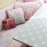 Making an Oilcloth Table