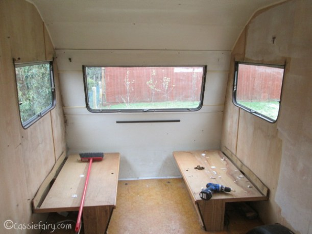 Vintage caravan makeover project on Cassiefairy blog-4