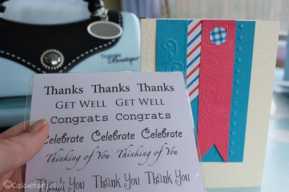 card making craft ideas including Sizzix embossing kit review-15