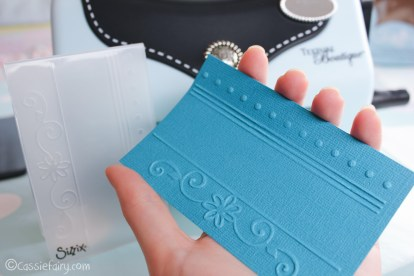 card making craft ideas including Sizzix embossing kit review-9