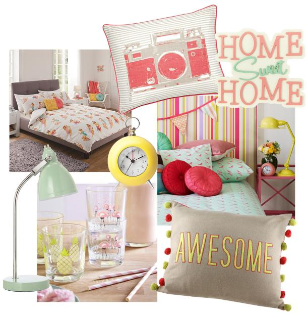 retro kitsch interior design trend for spring summer 2014 from george at asda