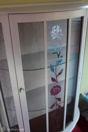 Vintage caravan project - DIY painted cabinet furniture makeover-15