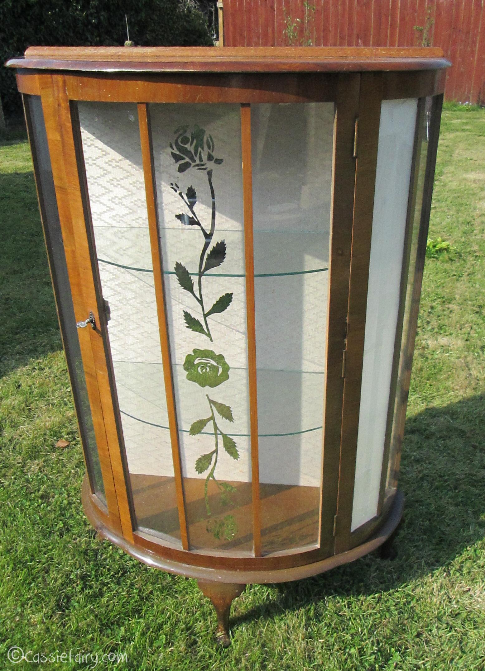 Vintage caravan project - DIY painted cabinet furniture makeover-4