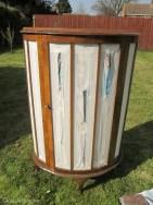 Vintage caravan project - DIY painted cabinet furniture makeover-9