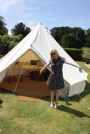 cassiefairy bell tent