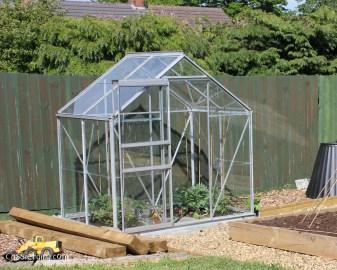 DIY building a greenhouse