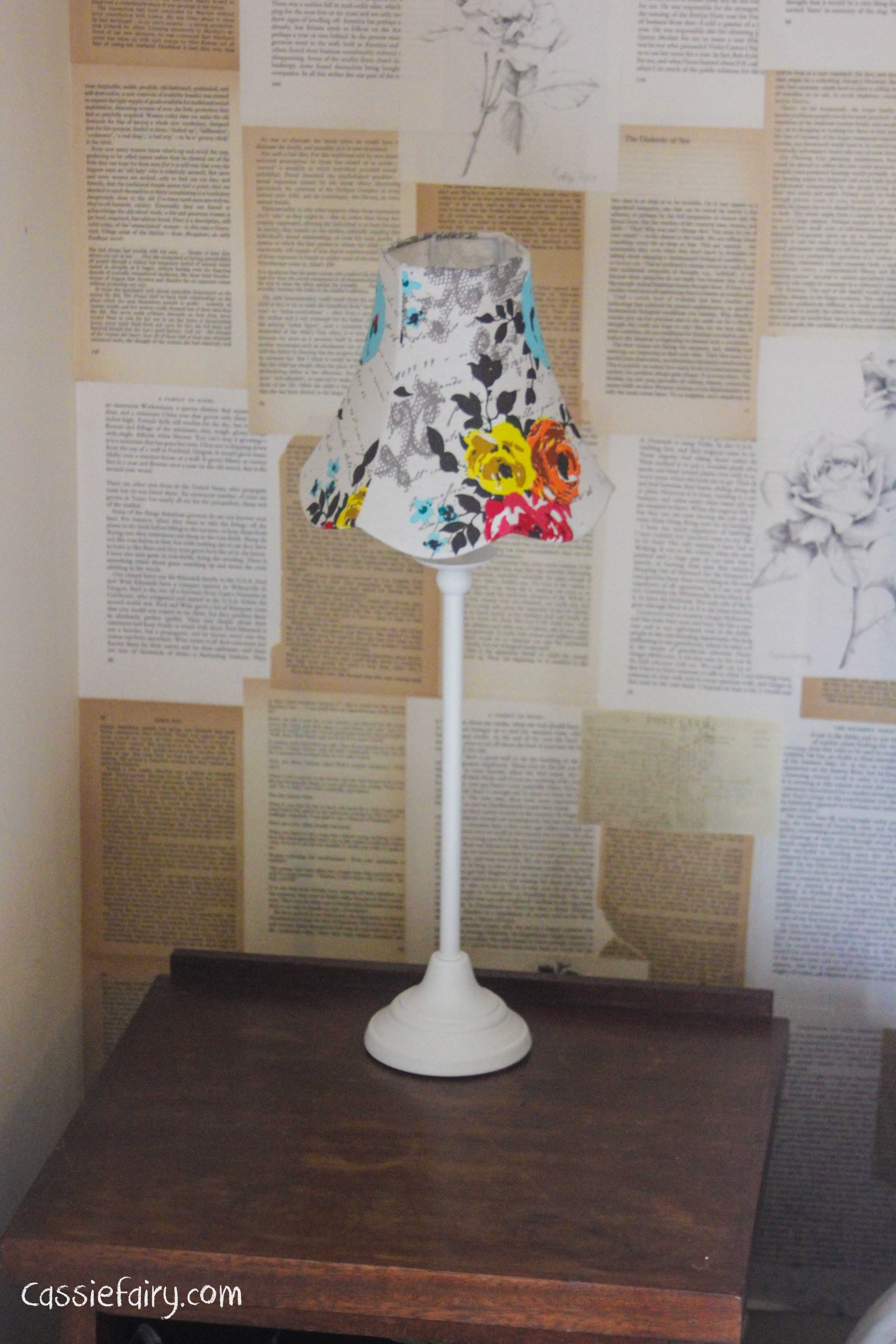 Dream a little dream bedroom makeover project - bedside lights from BHS-3