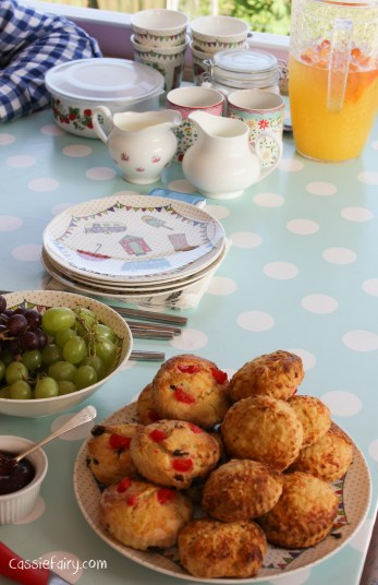 Ideas for afternoon tea party and scones recipes
