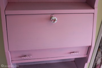 Vintage caravan project - DIY painted cabinet furniture makeover-19