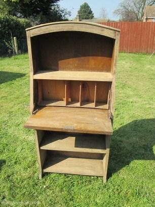 Vintage caravan project - DIY painted cabinet furniture makeover-2