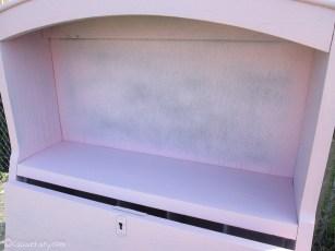 Vintage caravan project - DIY painted cabinet furniture makeover-8