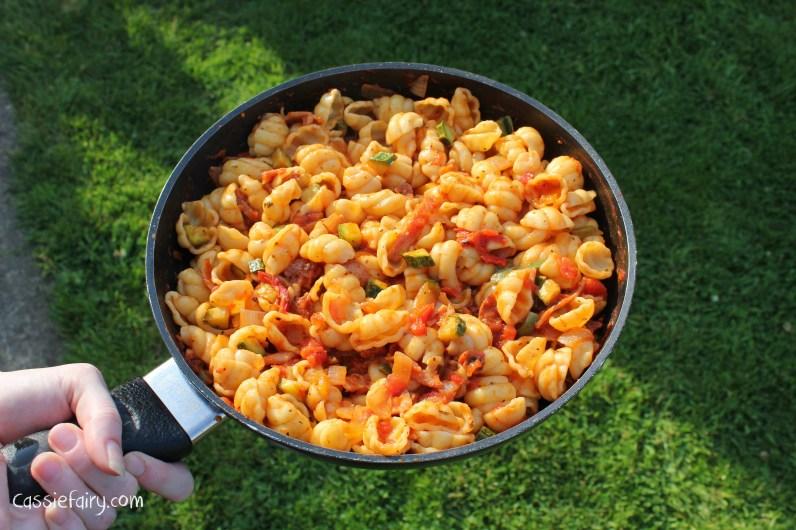 chorizo and veg pasta recipe-5