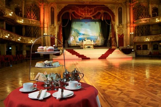 Blackpool Tower Ballroom Afternoon Tea