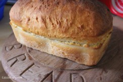 Easy recipe for baking a loaf of white bread-4