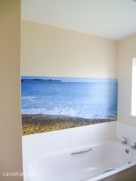 create a custom made photo wall in your home-3
