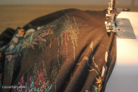 sewing tips for fixing a vintage dress