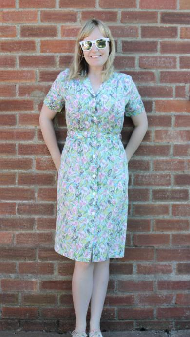 tips for sewing a vintage dress to fit properly