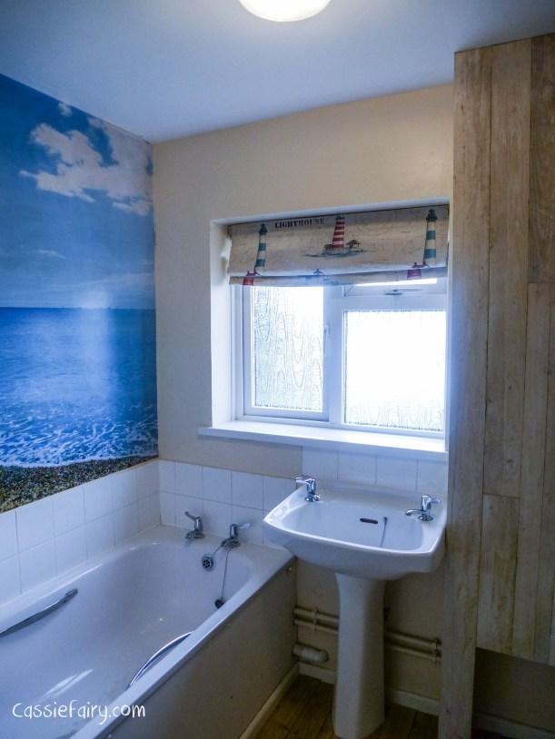DIY bathroom roman blind-2