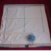 Lined Roman Blind Sewing Project Step 8.3