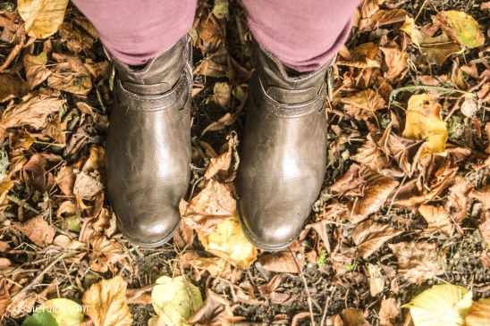 autumn colours and leather boots-7