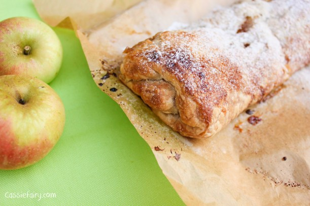 easy apple strudel recipe for the Great British Bake Off-8